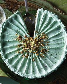 Pistachio Layer Cake (recipe too)