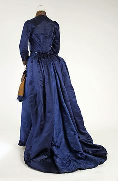 Dress (back view) 1888, French