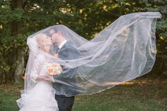 Playing with my veil