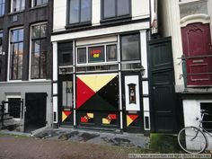 The Lion of Judah Coffeeshop at Oudezijds Voorburgwal 47, Amsterdam.  This was previously called Oude Kerk and also Bushman and lies just across the Oudezijds Voorburgwal from The church itself. Nearby hotels include Hotel The Crown and Hotel Vijaya or if you are that way inclined the Anco Hotel which is gay only (how do they check?).  Photo taken November 2012.