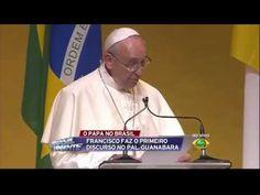 Discurso del Papa Francisco en el Palacio Guanabara