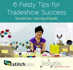 6 Feisty Tips for Tradeshow Success by @feistyelle