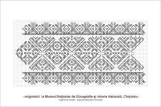 Semne Cusute: motive traditionale romanesti din Basarabia Folk Embroidery, Embroidery Patterns, Cross Stitch Patterns, Beading Patterns, Blackwork, Pixel Art, Needlepoint, Tatting, Needlework