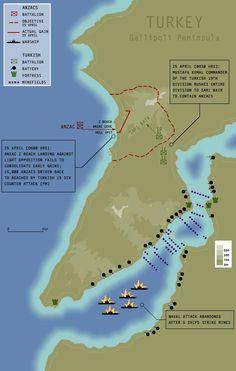 Harita: Gelibolu Yarımadası - Aşağıdaki başlık ve harita açıklamasına bakın