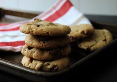 The Busty Baker: Brown Butter Sea Salt Chocolate Chip Cookies