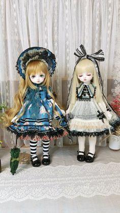 Magda + Nora New Dolls, Ooak Dolls, Doll Drawing, Victorian Dolls, Asian Doll, Anime Dolls, Creepy Cute, Kawaii Art, Custom Dolls