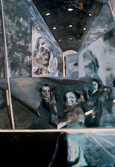 "Saatchi Art Artist Britta Winkels; Painting, ""departure(4M)"" #art"