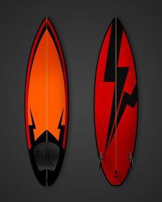 Surfboard Designs by Guto Reiiz, via Behance