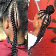 Stunning Black Girls Hairstyles Ideas in 2019 87 Stunning Black Girls Hairstyles Ideas in Creative hairstyles for African-American girls and women. Plenty of natural doses knits and corn fields for a great source of inspiration! Baby Girl Hairstyles, Kids Braided Hairstyles, African Braids Hairstyles, Black Girls Hairstyles, Hairstyle Braid, Teenage Hairstyles, Creative Hairstyles, Short Hairstyle, Cainrow Hairstyles