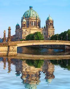Berlin Dom and Spree River!