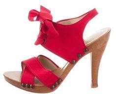 da20ea9ecab9 Lace-Up Crossover Sandals · Red PlatformSandals PlatformStella Mccartney ...