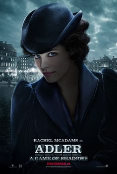 Sherlock Holmes: A Game of Shadows Movie Poster: Rachel McAdams as Irene Adler
