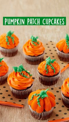 Halloween Cupcakes Decoration, Halloween Cupcakes Easy, Halloween Desserts, Fall Desserts, Great Desserts, Bolo Halloween, Halloween Baking, Halloween Cakes, Thanksgiving Cupcakes