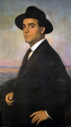 Autorretrato de Eugenio Hermoso Martínez colección del Museo de Bellas artes de Badajoz