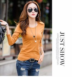 Women's Fashion O-Neck Slim Long Sleeve T-Shirt at Cecaca Singapore Online Shop www.cecaca.com.sg  Was US$28.81. Discount 38%. Now only US$17.99 (SG$25.20). Shop and buy this T-shirt online at ~ http://www.cecaca.com.sg/women-fashion-o-neck-slim-long-sleeve-t-shirt/ Free shipping worldwide. Credit cards and PayPal are preferred. Other payment methods are also welcome, please message us.  Shop online for more women's T-shirts & tees at ~ http://www.cecaca.com.sg/t-shirts/