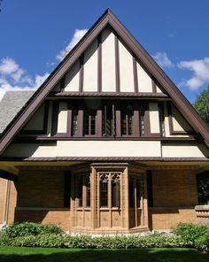 Frank Lloyd Wright Designed Homes In Oak Park, Illinois   Travel Photos By  Galen R