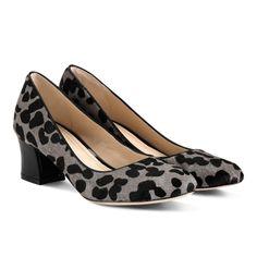 Chelsea Low Flared Heel