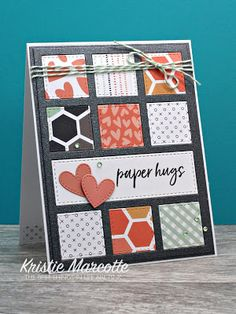 The best things in life are Pink.: Honey Bee Stamps Sweet on You 25 cards fr Diy Note Cards, Diy Cards, Patchwork Cards, Honey Bee Stamps, Card Sketches, Paper Cards, Creative Cards, Scrapbook Cards, Homemade Cards