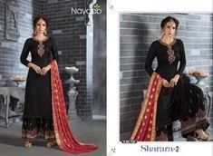 6343476c52 Designer Sharara Suits - Nayaab Embroidered Sharara Suit Manufacturer from  Ahmedabad