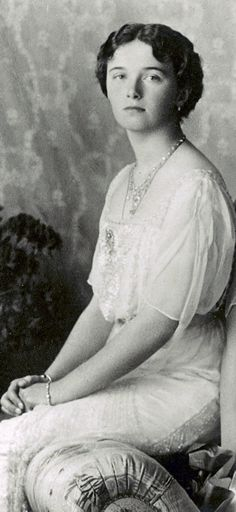 Grand Duchess Olga Nicholaevna of Russia, 1913.