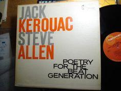 JACK KEROUAC STEVE ALLEN -Poetry For The Beat Generation-Hanover 5000