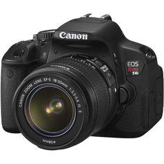 Canon EOS Rebel T4i Digital Camera w EF s 18 55mm F 3 5 5 6 Is II Lens 013803150605   eBay