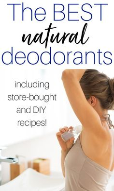 The best natural deodorants that actually work - including a store-bought option, essential oil spray and a homemade pit paste. products best products drugstore products must have products natural products that really work Organic Beauty, Organic Skin Care, Natural Skin Care, Organic Makeup, Face Care Tips, Skin Care Tips, Beauty Products That Work, Essential Oil Spray, Essential Oils