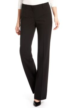'Tulia' | Stretch Wool Dress Pants by BOSS