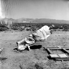 The Haunted Desert: Aftermath of a Nevada A-Bomb Test   TIME