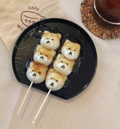 I Love Food, Good Food, Yummy Food, Japanese Snacks, Japanese Food, Cute Desserts, Cafe Food, Aesthetic Food, Korean Food