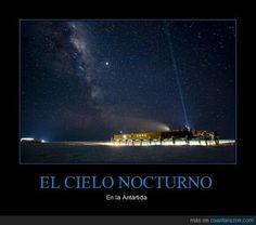 EL CIELO NOCTURNO - En la Antártida