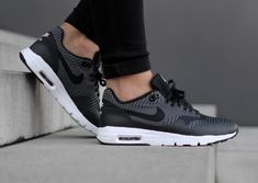 best website 57dc1 a5d4c Nike Air Max 1 Ultra Jacquard  Clearwater Black  (3) Chaussures Roshe,