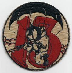 WW2 513th Parachute Infantry Regiment PIR Pocket Patch