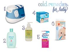 Cold Remedies for Baby!
