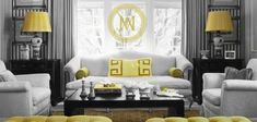 Design Chic: In Good Taste: Mary McDonald Love the oversized Greek Key motif on pillow