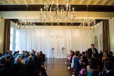 Wedding Ceremony. Vintage Ballroom.  Sarah Bastille Photography. http://www.sarahbastille.com