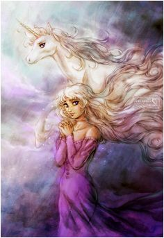 The Last Unicorn.