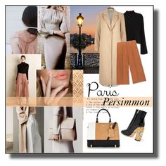 """""""PARIS PERSIMMON: I Love Paris in the Fall Contest Entry by Lisa~Jo"""" by lisajoastle ❤ liked on Polyvore featuring LYDC, Proenza Schouler, River Island, Marni and Dolce&Gabbana"""
