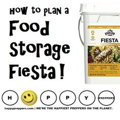 MEXICAN FOOD STORAGE! How to plan a fiesta even in an emergency: http://happypreppers.com/Mexican-food-storage.html