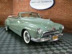 1948 Buick Super Maintenance/restoration of old/vintage vehicles: the material for new cogs/casters/gears/pads could be cast polyamide which I (Cast polyamide) can produce. My contact: tatjana.alic@windowslive.com