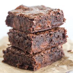 Better-Than-Box-Mix Brownies via @browneyedbaker