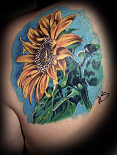 Image detail for -Sunflower : Tattoos :