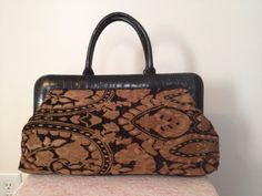 Vintage Coldwater Creek Carpet Handbag in by touchofclass123