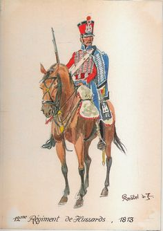 French; 12th Hussars, 1813