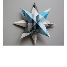 3d Sterne basteln, eine Anleitung #Christmas