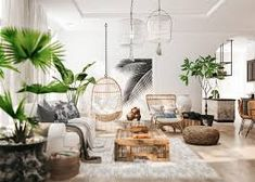 wicker furniture and green plants – RechercheGoogle Apartment Projects, Apartment Design, Tropical Style, Wood Interiors, Wicker Furniture, Green Plants, Vietnam, Relax, Architecture