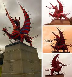 It was the (Welsh) Infantry Division that was charged with taking Mametz Wood during the bloody Battle of the Somme on July After five long days they managed to clear the woods of Germans, which cost them deaths and casualties. Wales Uk, North Wales, Welsh Sayings, Dragons, Best Flags, Celtic Nations, Welsh Dragon, Beautiful Dragon, Thinking Day