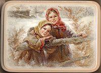 Russian village beauties