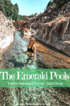 Tahoe National Forest's Best Kept Secret: The Emerald Pools - The Break of Dawns Cool Places To Visit, Places To Go, Fun Places To Travel, State Parks, Voyage Usa, Travel Photographie, The Last Summer, Camping Desserts, Destination Voyage