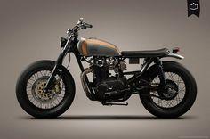 Yamaha XS650 Brat Style 001 by La Corona Motorcycles #motorcycles #bratstyle #motos | caferacerpasion.com